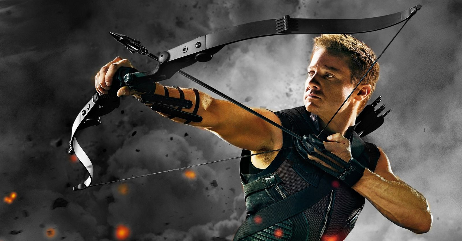 hawkeye the avengers movie wallpaper