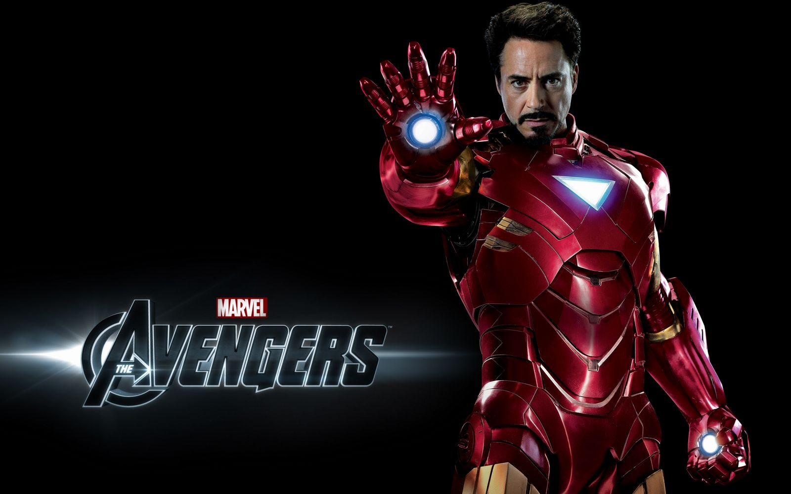 iron man in the avengers wide