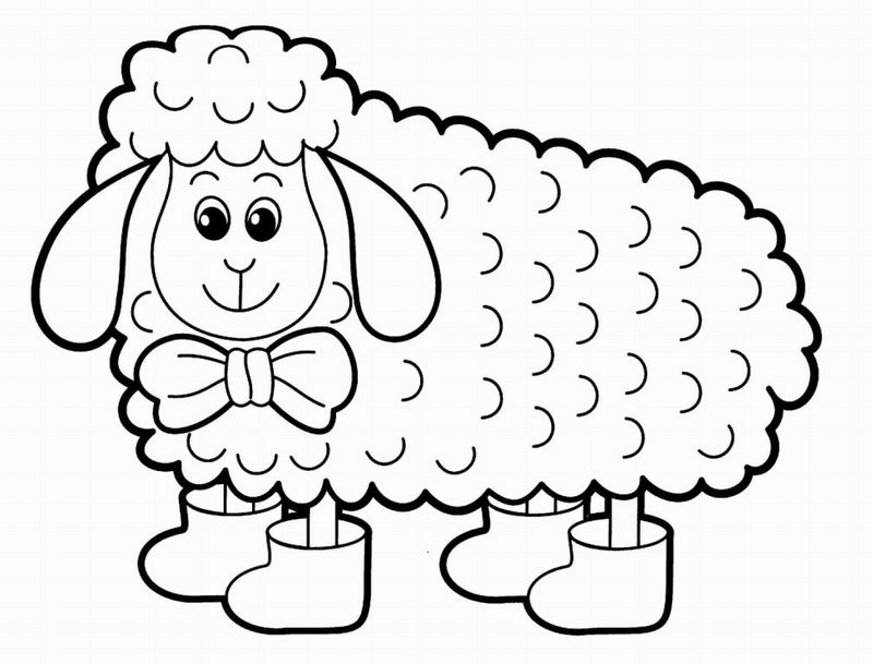 Animals coloring pages best for babies