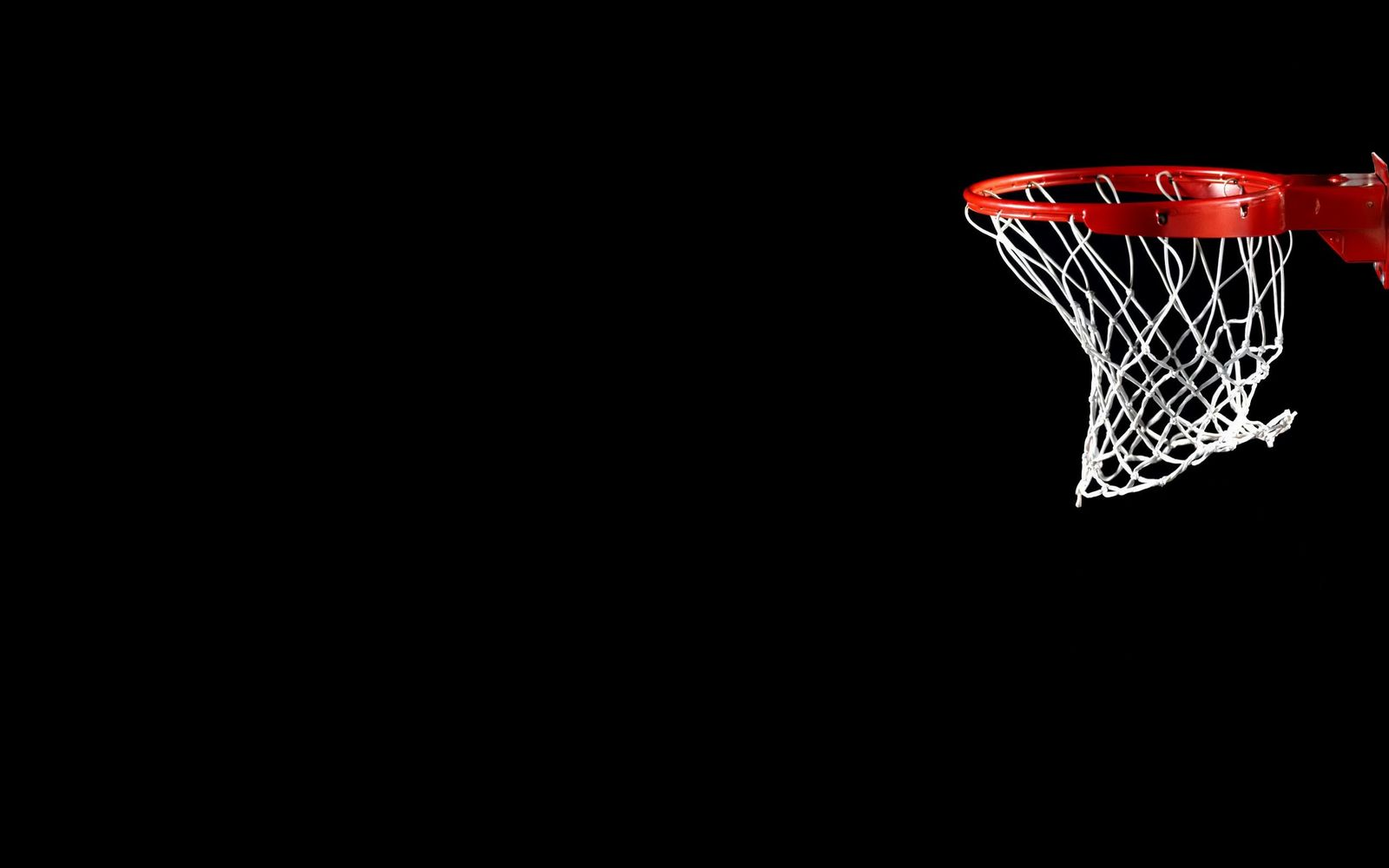 Basketball black background Wallpaper
