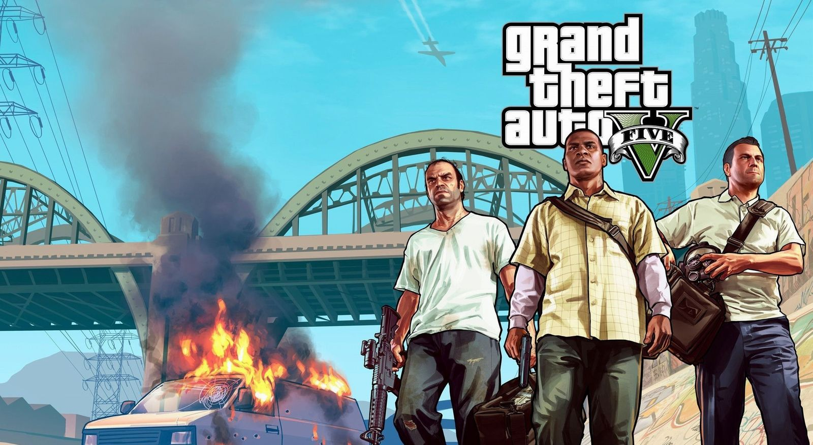 GTA 5 team Wallpaper