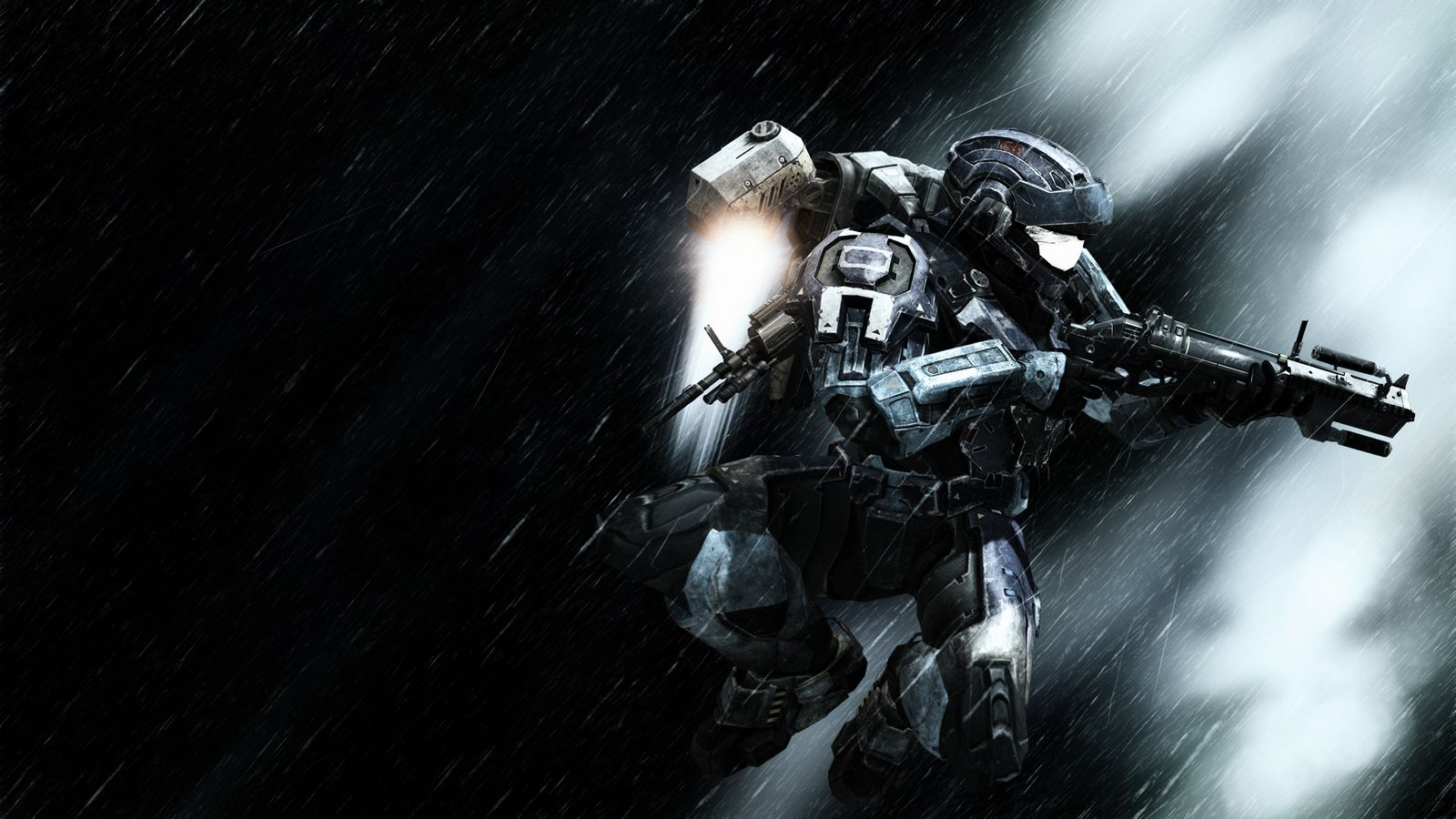 Halo action Wallpaper