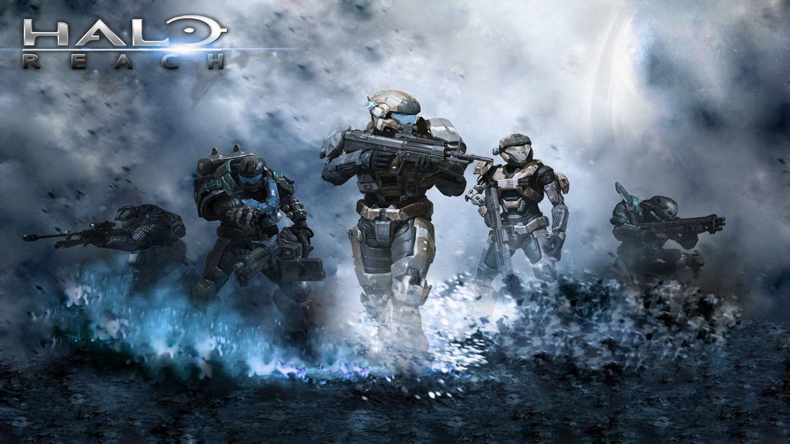 Halo full team Wallpaper