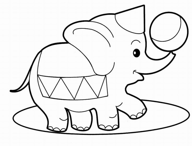 Kids animals coloring pages