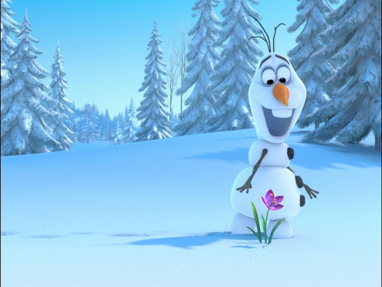 disney frozen olaf hd wallpaper image tablet