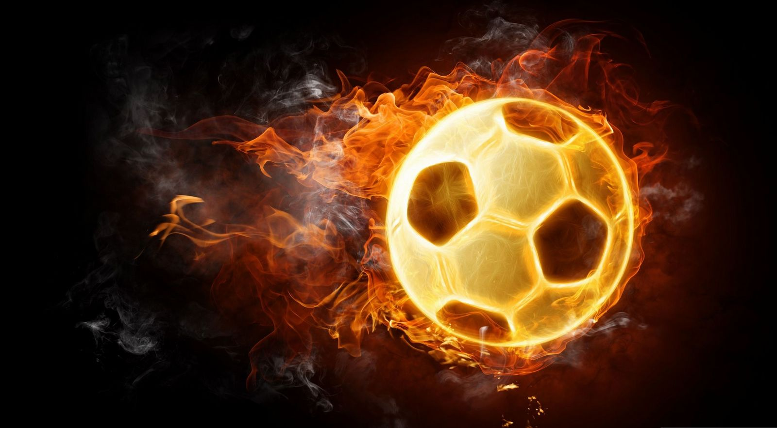 Fire football wallpaper