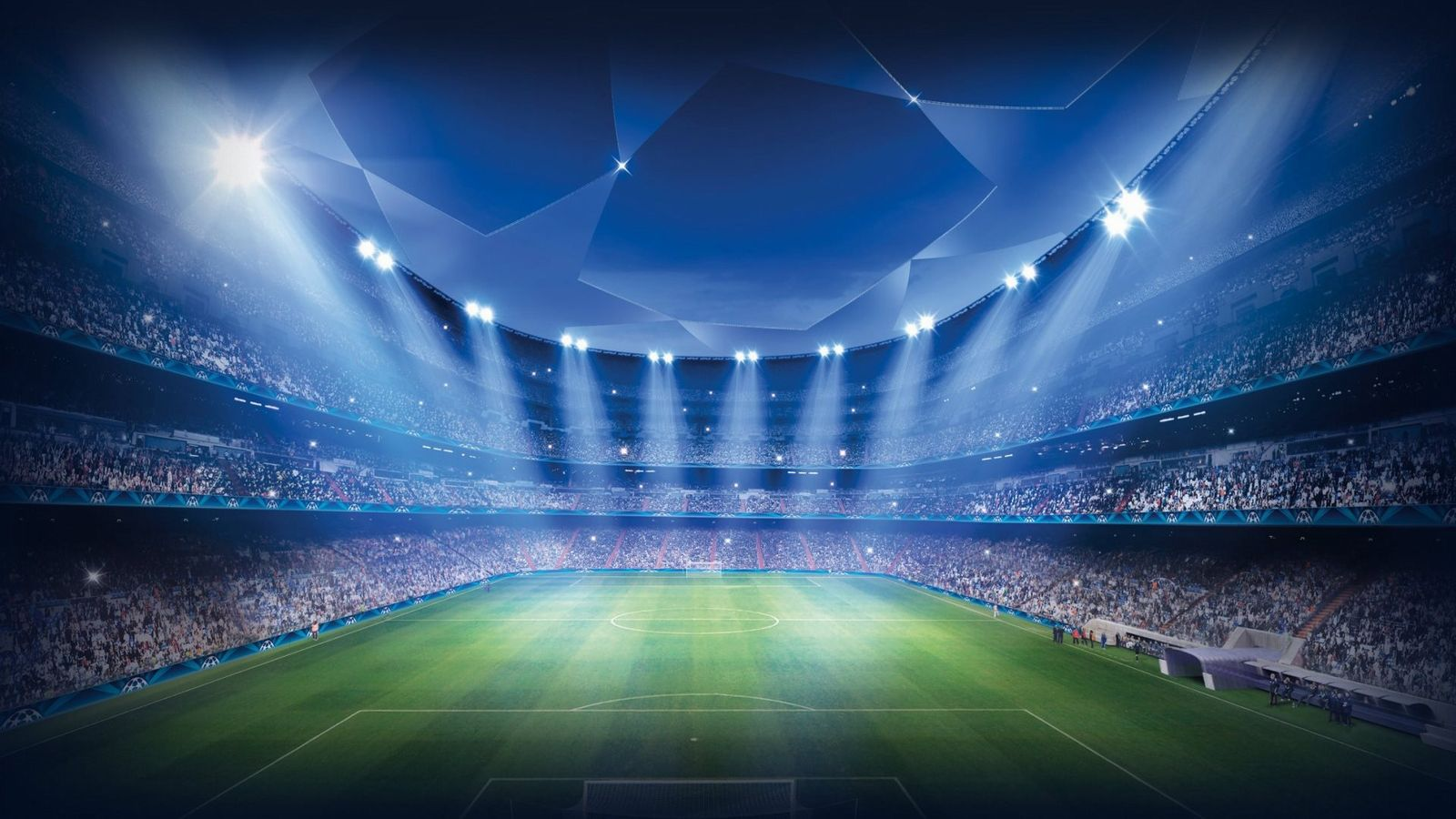Football ground wallpaper