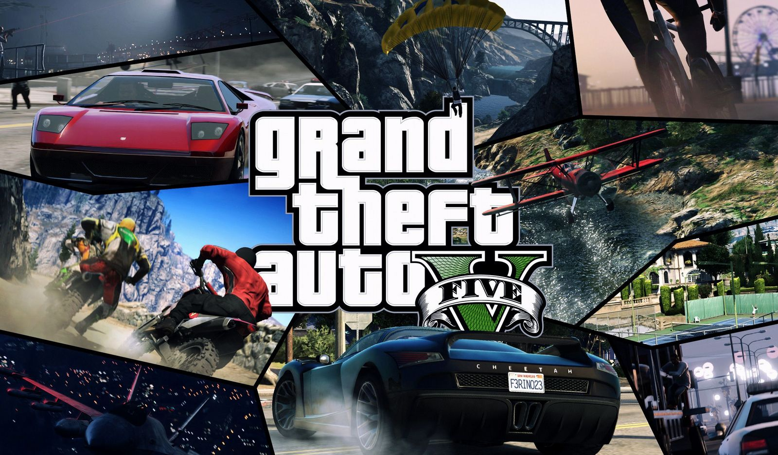GTA 5 wallpaper cover image