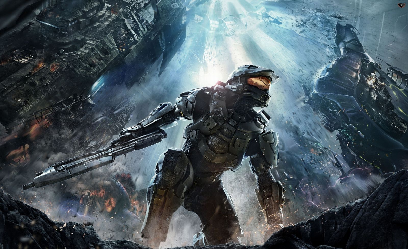 halo HD wallpaper