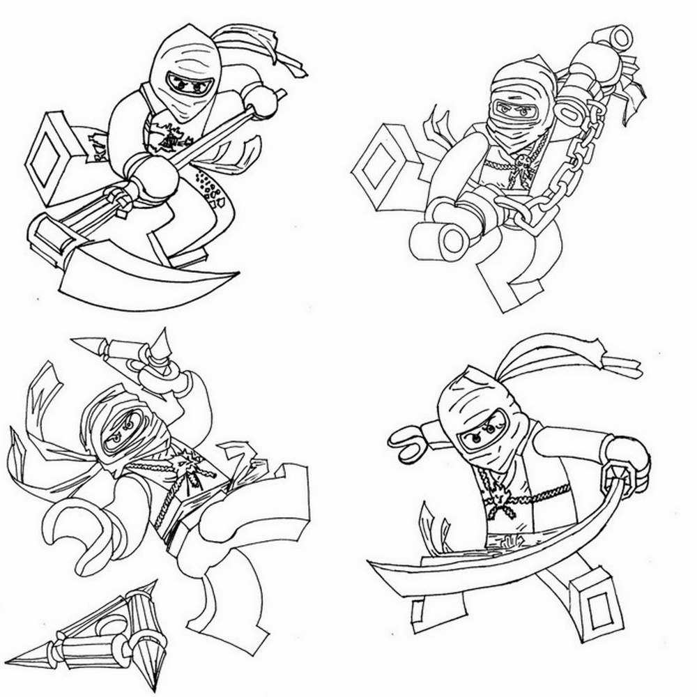 35 Ninjago Coloring Pages