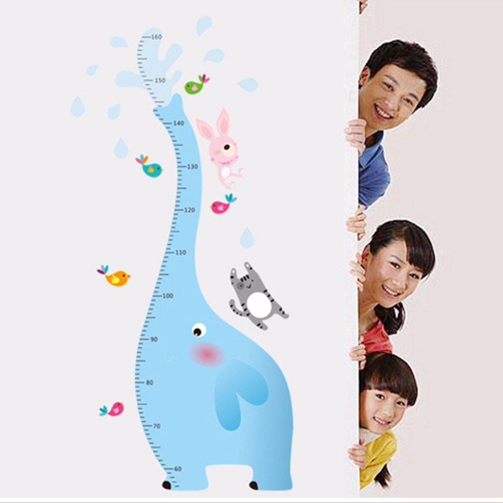 Creative Home Decor Blue Elephant-Height