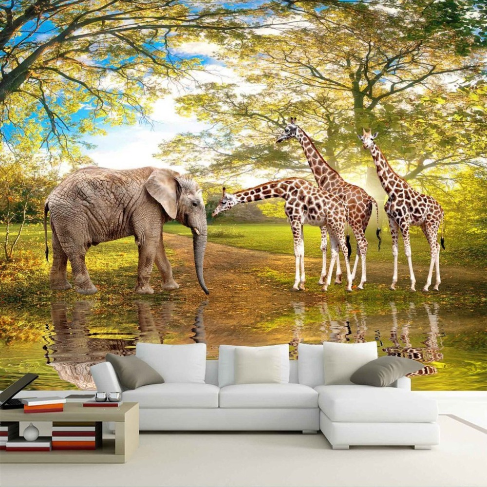 Custom 3D Photo Wall Paper