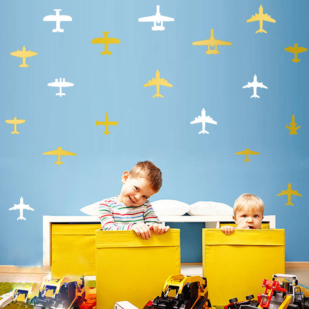 New childrens room airplane