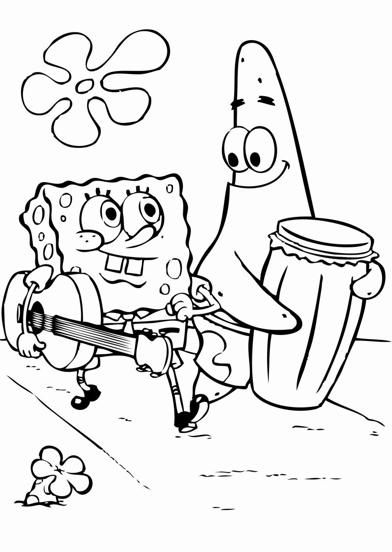 Best Spongebob Coloring Pages