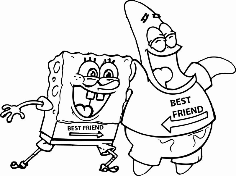 SpongeBob coloring pages to print - Topcoloringpages.net | 595x800