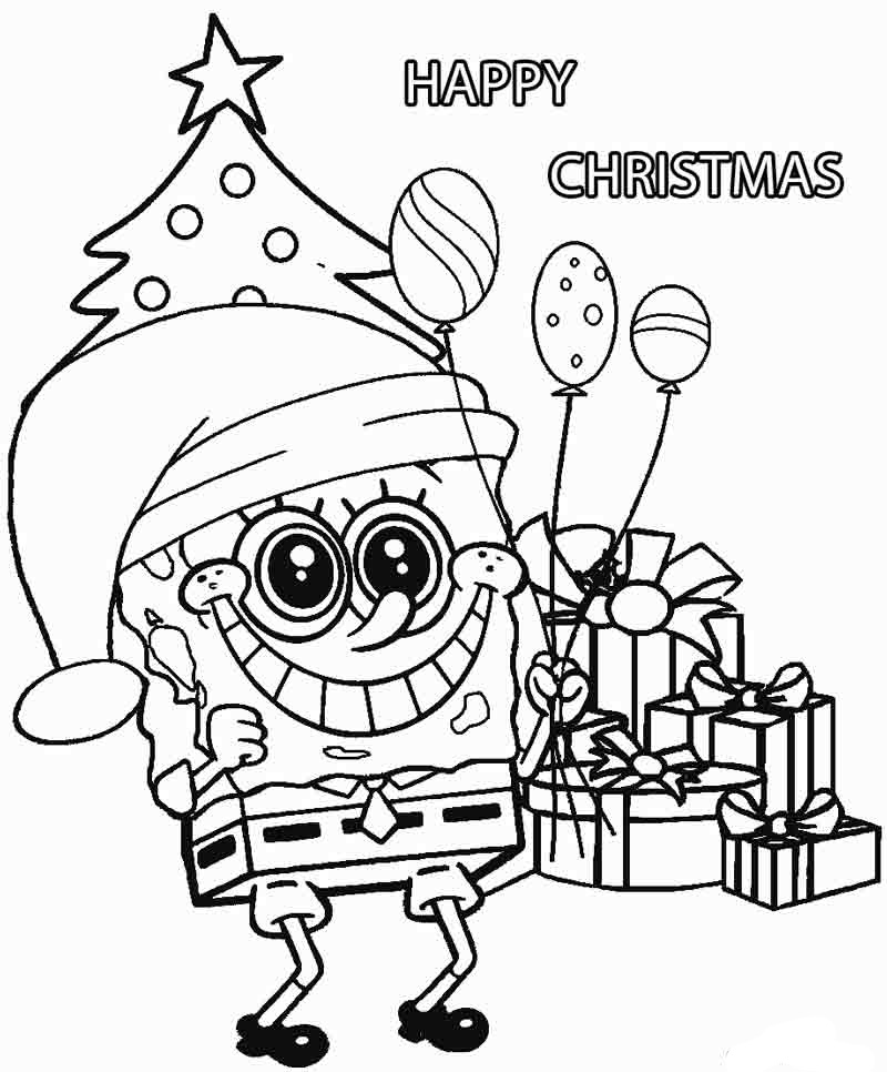 30 Free Spongebob Coloring Pages For School Kids