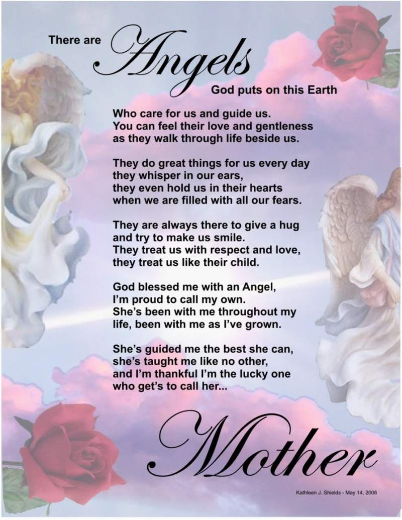 Best poems on mother