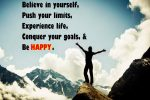 Experience quotes Believe in yourself