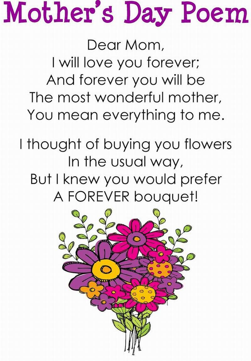 Heart touching poems for mother