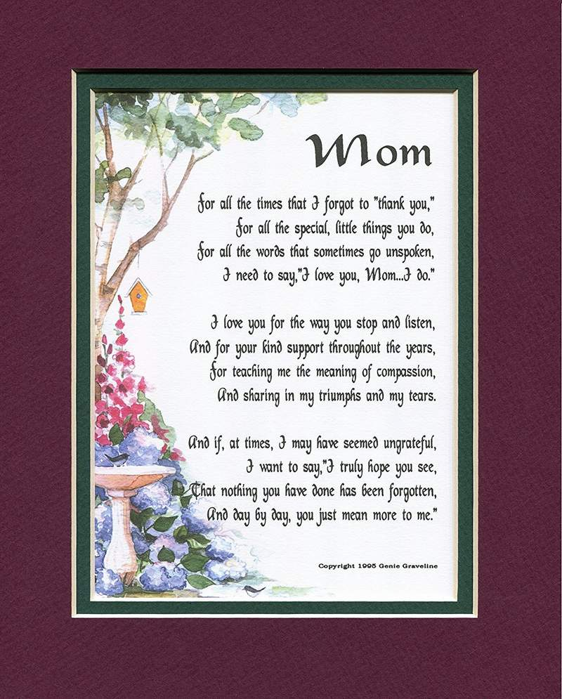 Heart touching poems on mothers