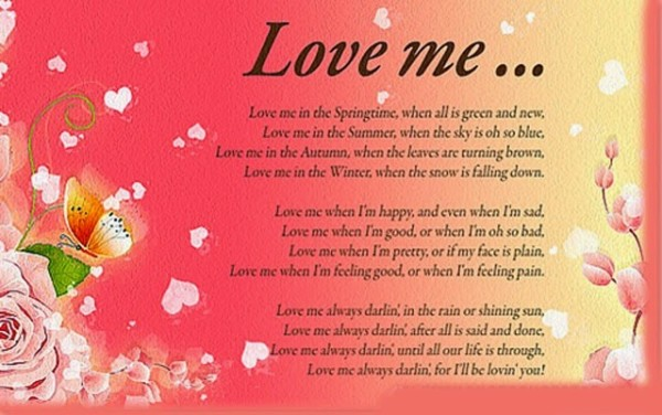 Valentines day romantic poems