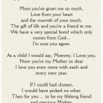 mothers day poem from daughter that make her cry - Fun Chap