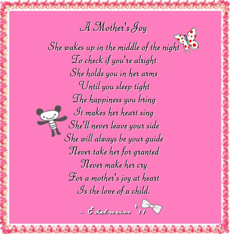 mothers day poems from daughter that will make cry
