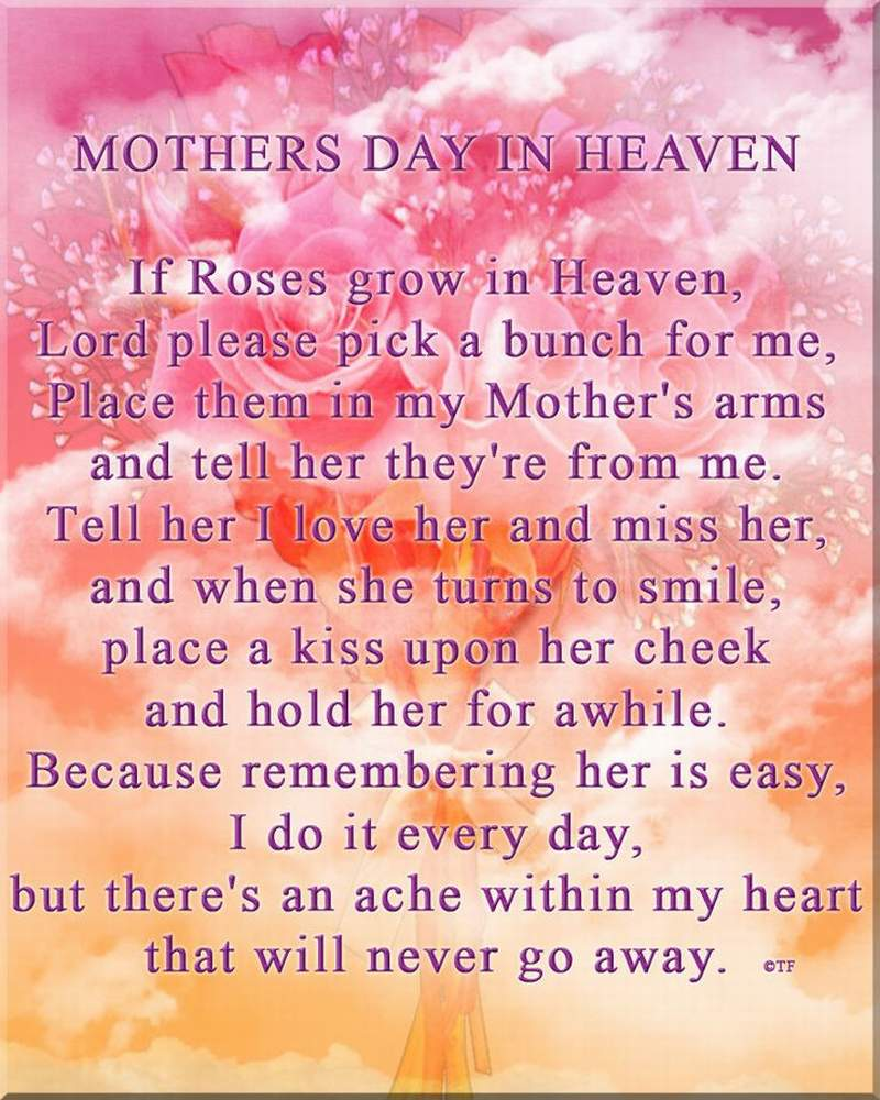 mothers day poems from daughter that will make her cry