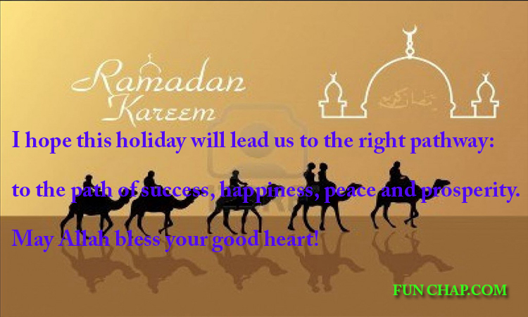 simple ramadan greeting cards